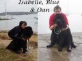 AJOUTER Isabelle, Blue & Oan