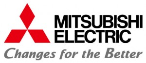 Logo Mitsubishi Electric - Changes for the better (Couleur - jpg)