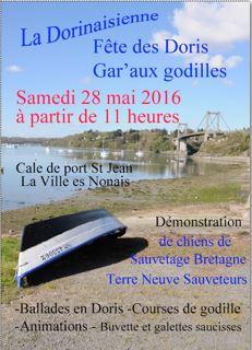 Affiche La Ville és Nonais 28 mai 2016