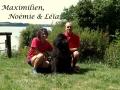 Noémie, Max & Leïa